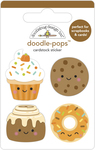 Fall Treats Doodle-pops - Doodlebug
