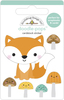 Fox & Friends Doodle-pops - Doodlebug Introducing Doodle Pops, dimensional die cut stickers! The perfect pop of whimsy and delight, these colorful cardstock stickers are a great addition to any card, tag or gift.  Re-positional adhesive. Sticker size approx. 1.875 inches  x 1.75 inches .