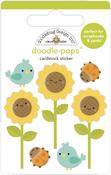 Sunflowers Doodle-pops - Doodlebug - PRE ORDER