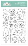 Forest Friends Doodle Stamps - Doodlebug