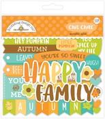 Pumpkin Spice Chit Chat - Doodlebug