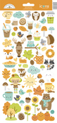 Pumpkin Spice Icons Sticker Sheet - Doodlebug