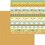 Autumn Weave Paper - Pumpkin Spice - Doodlebug