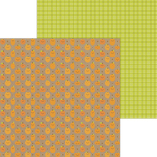 Pumpkin Chocolate Chip Paper - Pumpkin Spice - Doodlebug