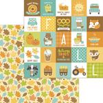 Unbe-Leaf-Able Paper - Pumpkin Spice - Doodlebug