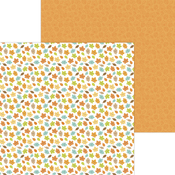 Happy Fall Paper - Pumpkin Spice - Doodlebug