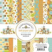 Pumpkin Spice 6x6 Paper Pad - Doodlebug
