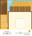 Fall Assortment Cards & Envelopes - Doodlebug