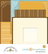 Fall Assortment Cards & Envelopes - Doodlebug - PRE ORDER