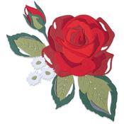Layered Rose Thinlits Dies - Sizix