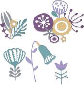 Folk Florals - Sizzix Thinlits Dies