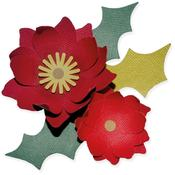 Winter Poinsettia - Sizzix Bigz Die