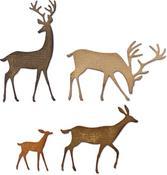 Darling Deer Thinlits Dies by Tim Holtz - Sizzix