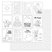 O Canada 2 Color Me Paper - Photoplay  - PRE ORDER