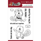 Beaver Hockey Stamp Set - O Canada 2 - Photoplay