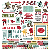 The Hockey Life Element Sticker Sheet - Photoplay