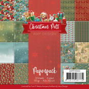 Christmas Pets 6 x 6 Paperpack - Find It Trading
