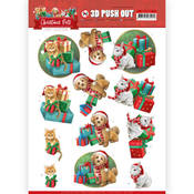 Presents Punchout Sheet - Christmas Pets - Find It Trading - PRE ORDER