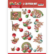 Christmas Balls Punchout Sheet - Christmas Pets - Find It Trading - PRE ORDER