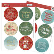 Text Clear Stamps - Christmas Pets - Find It Trading