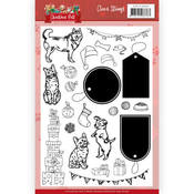 Christmas Pets Clear Stamps - Find It Trading