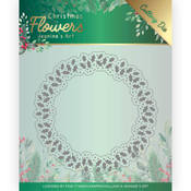 Holly Christmas Wreath Dies - Christmas Flowers - Find It Trading