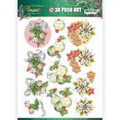 Christmas Bells Punchout Sheet - Christmas Flowers - Find It Trading - PRE ORDER