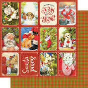 Christmas Greetings One Paper - Authentique