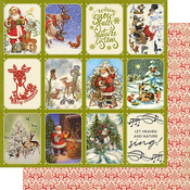 Christmas Greetings Two Paper - Authentique