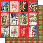 Christmas Greetings Three Paper - Authentique