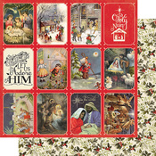 Christmas Greetings Four Paper - Authentique