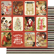Christmas Greetings Five Paper - Authentique