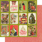 Christmas Greetings Six Paper - Authentique