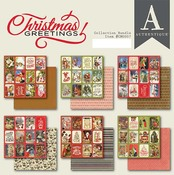 Christmas Greetings 6x6 Bundle - Authentique