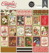 Christmas Greetings 12x12 Paper Pad - Authentique