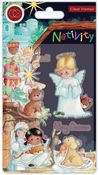Angels Clear Stamps - Nativity - Craft Consortium