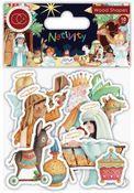 Nativity Printed Wooden Ephemera - Craft Consortium