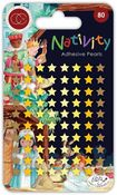 Nativity Adhesive Pearls - Craft Consortium