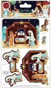 Nativity 3D Decoupage & Topper Set - Craft Consortium  - Craft Consortium