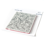 Winterberry Background Cling Stamp - Pinkfresh Studio