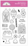 Sweet Treats Doodle Stamp Set - Doodlebug