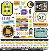 Ghost Town This & That Sticker Sheet - Doodlebug