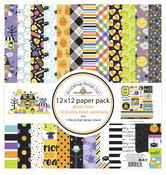 Ghost Town 12x12 Paper Pack - Doodlebug - PRE ORDER