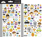 Ghost Town Mini Icon Sticker Sheets - Doodlebug