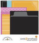 Halloween Assortment Cards & Envelopes - Doodlebug