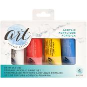 Primary - Art Supply Basics Acrylic Paint 4/Pkg