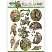 Forest Owls Punchout Sheet - Find It Trading - PRE ORDER
