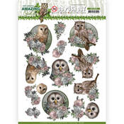 Romantic Owls Punchout Sheet - Find It Trading - PRE ORDER