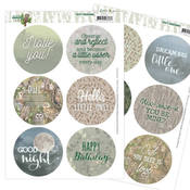 Text Clear Stamps - Find It Trading - PRE ORDER