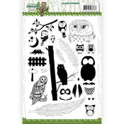 Amazing Owls Clear Stamps - Find It Trading